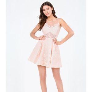 Bebe Lace Dress US 8 (M). Baby/Bridal Shower